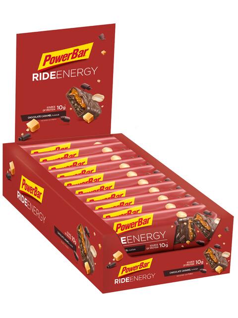 PowerBar RideEnergy Riegel Box Chocolate-Caramel 18 x 55g